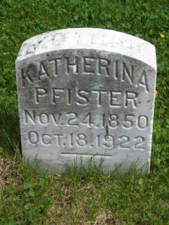 PFISTER, KATHERINA - Woodford County, Illinois   KATHERINA PFISTER - Illinois Gravestone Photos