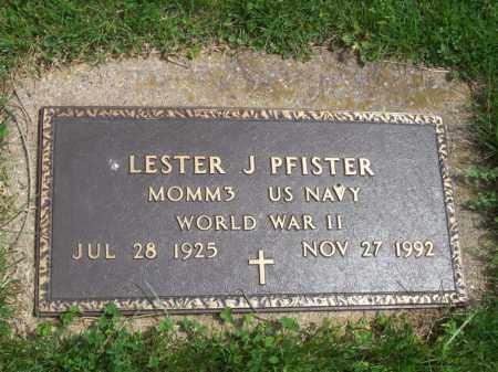 PFISTER, LESTER J. - Woodford County, Illinois   LESTER J. PFISTER - Illinois Gravestone Photos