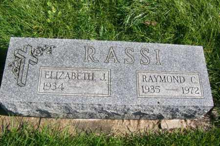 RASSI, RAYMOND C. - Woodford County, Illinois   RAYMOND C. RASSI - Illinois Gravestone Photos