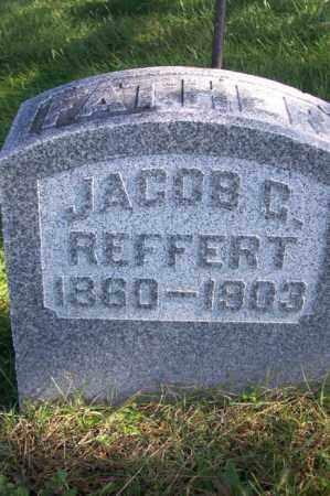 REFFERT, JACOB C. - Woodford County, Illinois   JACOB C. REFFERT - Illinois Gravestone Photos