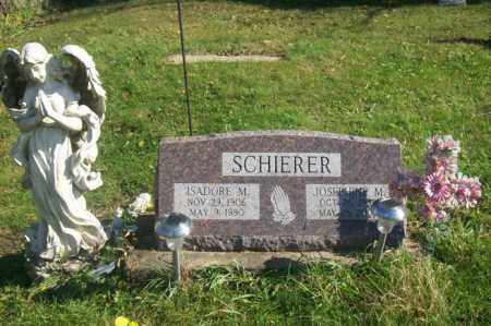 SCHIERER, ISADORE M. - Woodford County, Illinois | ISADORE M. SCHIERER - Illinois Gravestone Photos