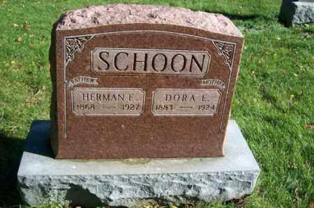 SCHOON, DORA E. - Woodford County, Illinois | DORA E. SCHOON - Illinois Gravestone Photos