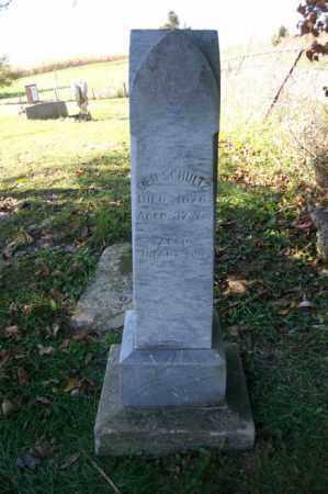 SCHULTZ, BEN - Woodford County, Illinois | BEN SCHULTZ - Illinois Gravestone Photos