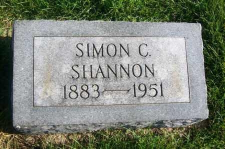 SHANNON, SIMON C. - Woodford County, Illinois   SIMON C. SHANNON - Illinois Gravestone Photos