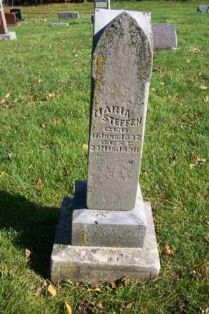 STEFFEN, MARIA - Woodford County, Illinois | MARIA STEFFEN - Illinois Gravestone Photos