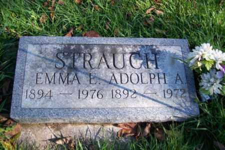 STRAUCH, EMMA E. - Woodford County, Illinois   EMMA E. STRAUCH - Illinois Gravestone Photos