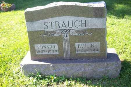 STRAUCH, PAULINE - Woodford County, Illinois | PAULINE STRAUCH - Illinois Gravestone Photos