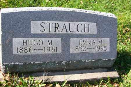 STRAUCH, EMMA M. - Woodford County, Illinois   EMMA M. STRAUCH - Illinois Gravestone Photos
