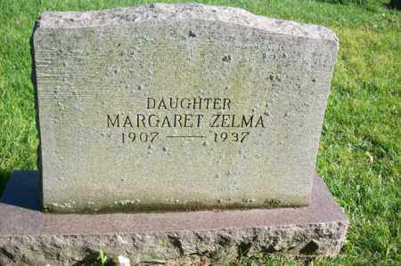 STRAUCH, MARGARET ZELMA - Woodford County, Illinois | MARGARET ZELMA STRAUCH - Illinois Gravestone Photos