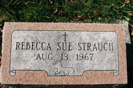 STRAUCH, REBECCA SUE - Woodford County, Illinois   REBECCA SUE STRAUCH - Illinois Gravestone Photos