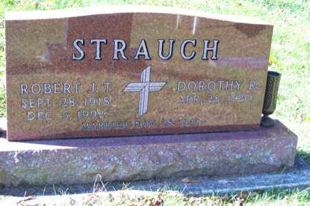 STRAUCH, ROBERT J.T. - Woodford County, Illinois   ROBERT J.T. STRAUCH - Illinois Gravestone Photos