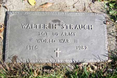 STRAUCH, WALTER H. - Woodford County, Illinois | WALTER H. STRAUCH - Illinois Gravestone Photos