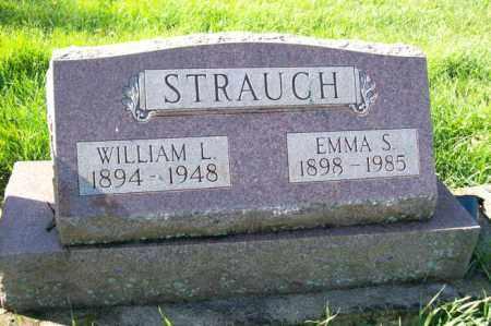 STRAUCH, EMMA S. - Woodford County, Illinois   EMMA S. STRAUCH - Illinois Gravestone Photos