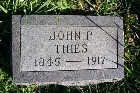 THIES, JOHN P. - Woodford County, Illinois   JOHN P. THIES - Illinois Gravestone Photos