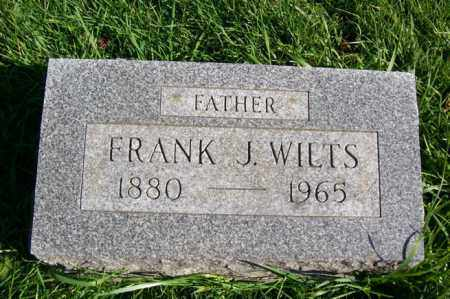 WILTS, FRANK J. - Woodford County, Illinois   FRANK J. WILTS - Illinois Gravestone Photos