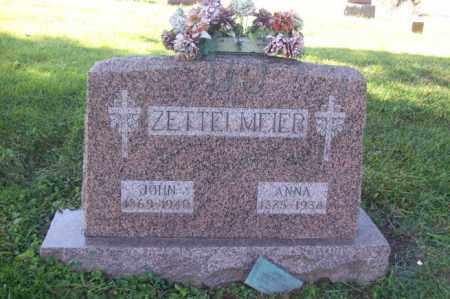 ZETTELMEIER, JOHN - Woodford County, Illinois | JOHN ZETTELMEIER - Illinois Gravestone Photos