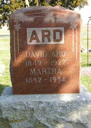 ARD, MARTHA ANN - Allen County, Kansas | MARTHA ANN ARD - Kansas Gravestone Photos