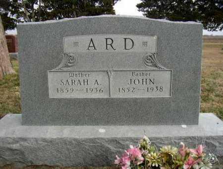 ARD, JOHN C - Allen County, Kansas | JOHN C ARD - Kansas Gravestone Photos