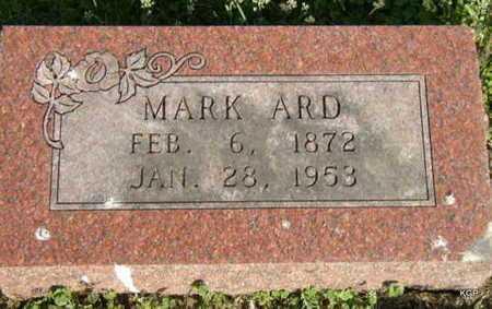 ARD, MARK - Allen County, Kansas | MARK ARD - Kansas Gravestone Photos