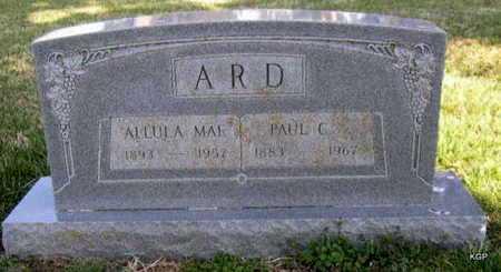 SPURGEON ARD, ALLULA MAE - Allen County, Kansas | ALLULA MAE SPURGEON ARD - Kansas Gravestone Photos