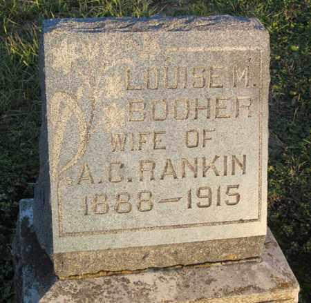 BOOHER, LOUISE M - Allen County, Kansas | LOUISE M BOOHER - Kansas Gravestone Photos