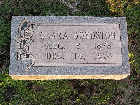 BOYDSTON, CLARA - Allen County, Kansas | CLARA BOYDSTON - Kansas Gravestone Photos