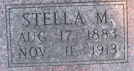 BOOHER, STELLA M (CLOSE UP) - Allen County, Kansas | STELLA M (CLOSE UP) BOOHER - Kansas Gravestone Photos