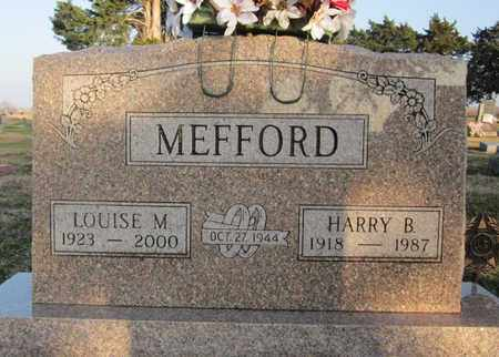 MEFFORD, HARRY - Allen County, Kansas | HARRY MEFFORD - Kansas Gravestone Photos