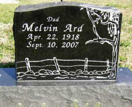 ARD, MELVIN  (VETERAN WWII) - Allen County, Kansas | MELVIN  (VETERAN WWII) ARD - Kansas Gravestone Photos