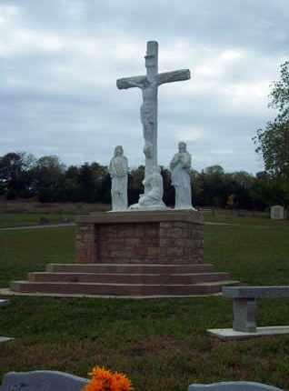 *CRUCIFIX,  - Anderson County, Kansas |  *CRUCIFIX - Kansas Gravestone Photos
