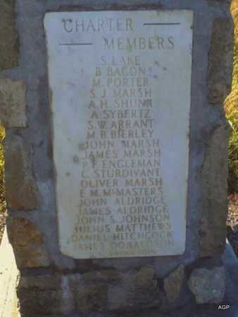 *CHARTER MEMBERS,  - Anderson County, Kansas |  *CHARTER MEMBERS - Kansas Gravestone Photos