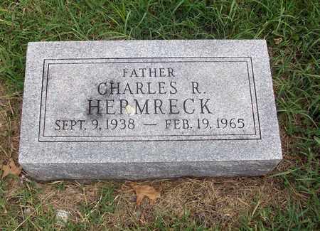 HERMRECK, CHARLES R - Anderson County, Kansas   CHARLES R HERMRECK - Kansas Gravestone Photos