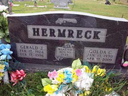 HERMRECK, GERALD J - Anderson County, Kansas | GERALD J HERMRECK - Kansas Gravestone Photos