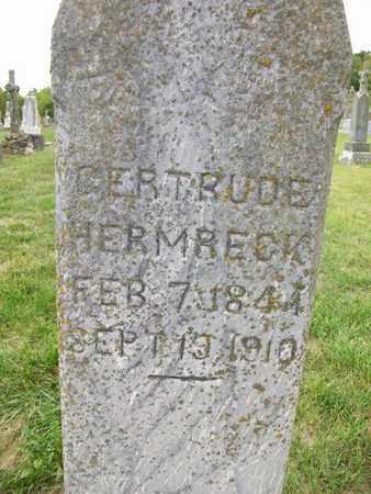 SEPPELFRICKE HERMRECK, GERTRUDE - Anderson County, Kansas | GERTRUDE SEPPELFRICKE HERMRECK - Kansas Gravestone Photos