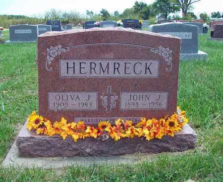 ROCKERS HERMRECK, OLIVA JOSEPHINE - Anderson County, Kansas | OLIVA JOSEPHINE ROCKERS HERMRECK - Kansas Gravestone Photos
