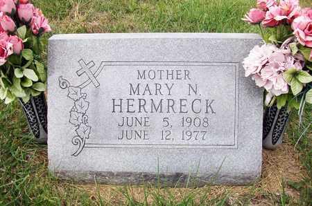 HERMRECK, MARY N - Anderson County, Kansas   MARY N HERMRECK - Kansas Gravestone Photos