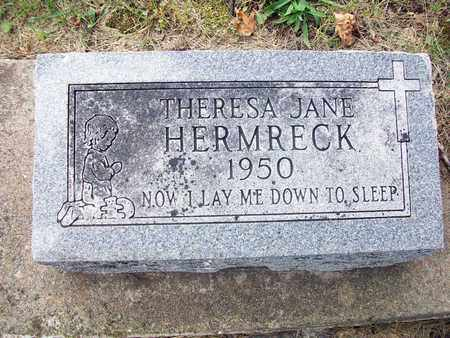 HERMRECK, THERESA JANE - Anderson County, Kansas | THERESA JANE HERMRECK - Kansas Gravestone Photos