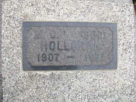 "HOLLORAN, MATHIAS CHARLES ""BUD"" - Anderson County, Kansas | MATHIAS CHARLES ""BUD"" HOLLORAN - Kansas Gravestone Photos"