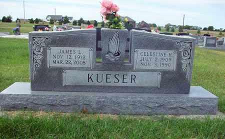 GRETENCORD KUESER, CELESTINE HERMINA - Anderson County, Kansas | CELESTINE HERMINA GRETENCORD KUESER - Kansas Gravestone Photos