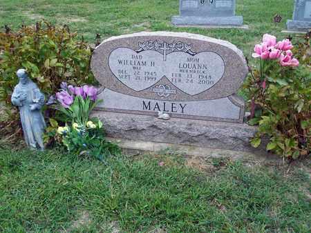 MALEY, LOUANN - Anderson County, Kansas | LOUANN MALEY - Kansas Gravestone Photos