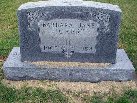 PICKERT, BARBARA JANE - Anderson County, Kansas | BARBARA JANE PICKERT - Kansas Gravestone Photos