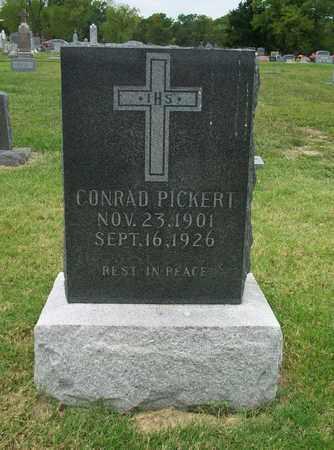 PICKERT, CONRAD - Anderson County, Kansas | CONRAD PICKERT - Kansas Gravestone Photos