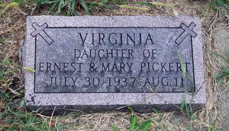 PICKERT, VIRGINIA - Anderson County, Kansas | VIRGINIA PICKERT - Kansas Gravestone Photos