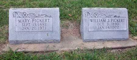 PICKERT, MARY - Anderson County, Kansas | MARY PICKERT - Kansas Gravestone Photos