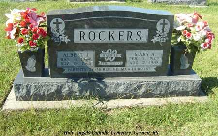 PICKERT ROCKERS, MARY ANN - Anderson County, Kansas | MARY ANN PICKERT ROCKERS - Kansas Gravestone Photos