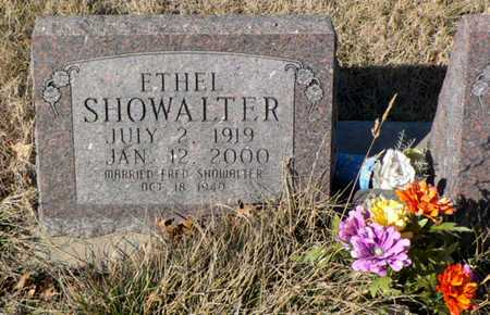 SHOWALTER, ETHEL ELIZABETH - Anderson County, Kansas | ETHEL ELIZABETH SHOWALTER - Kansas Gravestone Photos