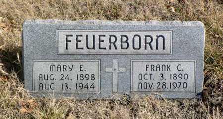 FEUERBORN, FRANK - Anderson County, Kansas | FRANK FEUERBORN - Kansas Gravestone Photos