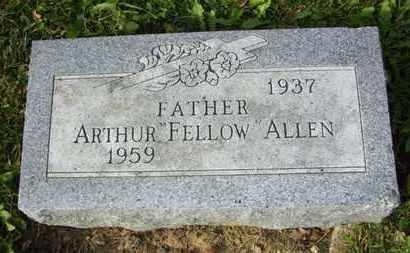 "ALLEN, ARTHUR ""FELLOW"" - Atchison County, Kansas | ARTHUR ""FELLOW"" ALLEN - Kansas Gravestone Photos"
