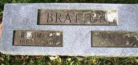 BRATTON, MARY L - Atchison County, Kansas   MARY L BRATTON - Kansas Gravestone Photos