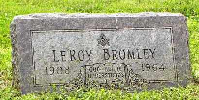 BROMLEY, LEROY - Atchison County, Kansas | LEROY BROMLEY - Kansas Gravestone Photos